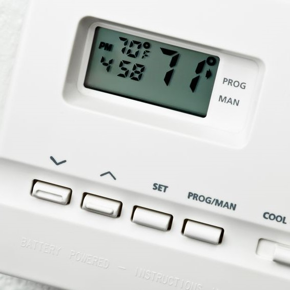 thermostat set way too low