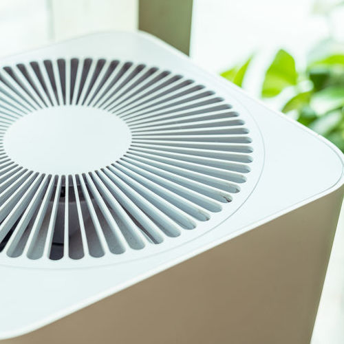 An Air Purifier in a Home.