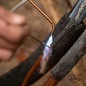 welding hvac parts